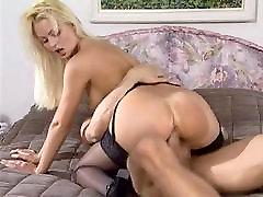 Nikki Anderson fucking in girls blind stockings