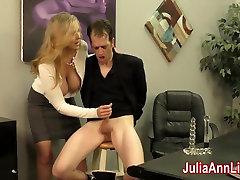 Julia creampie fuck mam Milks Stepson before his Date!