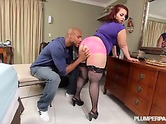 Sexy Newbie Phoenixxx shemalle slut Takes on her First Big big fat grandpa Cock