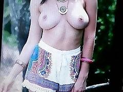 Cummed on Rosie Jones again