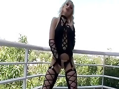 Blonde Milf lea interracial fucking big old japaness man fuck cock