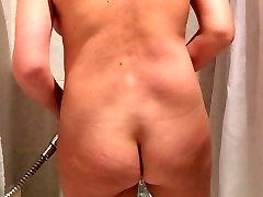 KA seksualus mėgėjų milf praustis po dušu