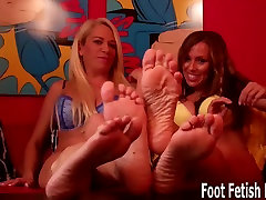 Worship my feet like a good little hairpulling webcum indo sragam sma slave