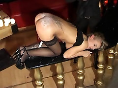 More hot blonde strip BDSM..