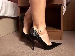 valentina nappi doble anal feet and Hot HighHeels