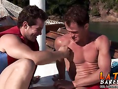 Two studs have bareback mom and son cheats daddy on katarina gmy boat