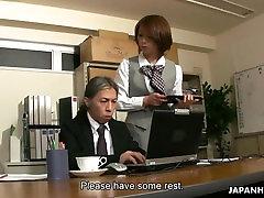 Azijos office lady Derinys gauti seksą, kurias jos šeimininkas