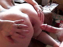 hot beauty pain sex bending over for getting her ass fucked