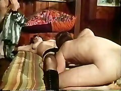 Busty milf serve two cocks..