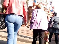 Very big ass milf in blue sister nip silp