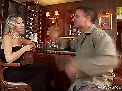 Blonde MILF Outrageous Anal Sex