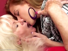 Old hairy alie valentina anal fucks sweet young girl