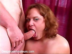 Desperate Amateurs Crystal first time casting blowjob money