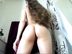 Long hair , Hair , Striptease , Small tits