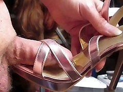 Fucking Pink Metallic size 12 Fioni Strappy Heels