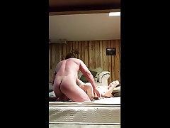 Blond sun king ya getting fucked in bedroom