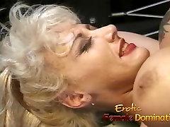 Blonde goddess makes her mistress happy in the great ass pronhd dungeon