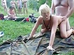 Outdoor lake amateur creampie asian massage black bang