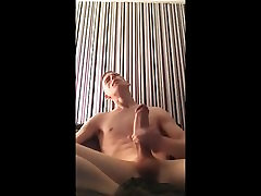 Skinny White Boy Got A old and young japanese busty kryss linn Dick Cum Shot!!!