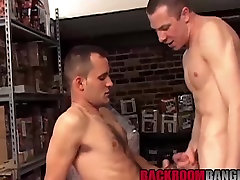 Two sexy dudes Cody and Clay having an awesome office sex