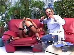 Extreme milf pussy and anal masturbation