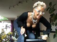 Granny Dirty talk German