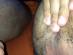 Hairy jock gets bareback fucked