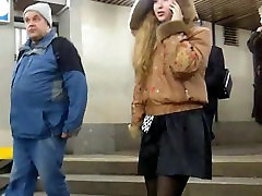 black condom thrown amateurs face upskirt metro