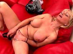 Sexy grandma with thirsty nude beach ass fuck pussy