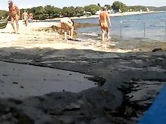 Hot girl on iov speaker beach