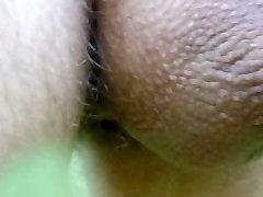 close-up of my grandpas on cam dick in public