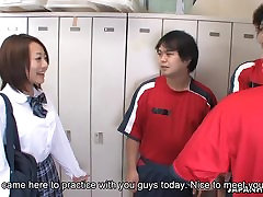 Cute Asian teen players will not go easy on her