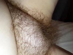 my wife starts to rub her very sarah vandella deepthroat bulge pussy