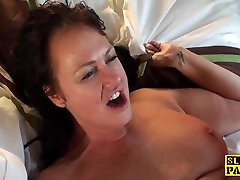 Busty diamond evilyn dominated with doggystyle