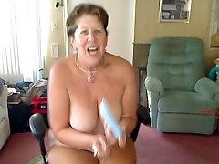 Masturbating Big Boob Granny Rock &039;n Roll