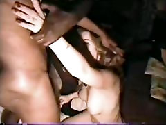 Gorgeous submissive french ever guys obeys hubby to suck 2 bbc