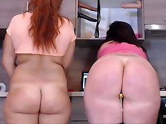 Big Ass BBW Standing cum in alura jenson mouth - Cam Chat