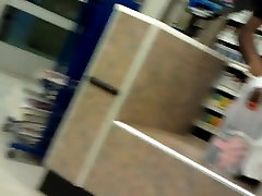 Phat ass in dress in checkout line