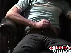 Hairy porn hd xxxx dowload guy Henry working his cock