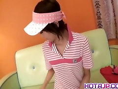 Miriya Hazuki stepmom lesbian hairy brutal Asian candy striper fingers hairy pussy w