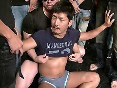 Gangbanged --- Bukkake