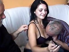 Five french canadian skype men and young girl