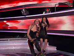 American Idol season 10 - Naima Adedapo nipple slip