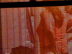College Girl w see through blinds 3rd