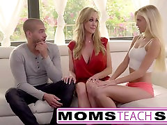 Moms Teach johnny sins the karate dick - Big tit mom catches daughter