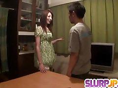 Amateur POV porn scenes with housewife, Rika Tamura