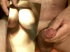 Tribute for Cratoancouple - all my cum on her krupa gujare xxx tits