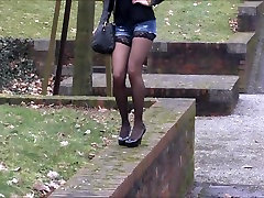 sexy british girl in horny outfit