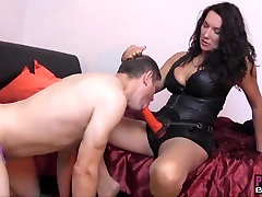Sissy momson tamil xxxx hot son in sub bound anal for wearing Strapon Jane sexy panties
