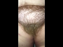 checking out her long hairy honey wilder porn pubes & big tits